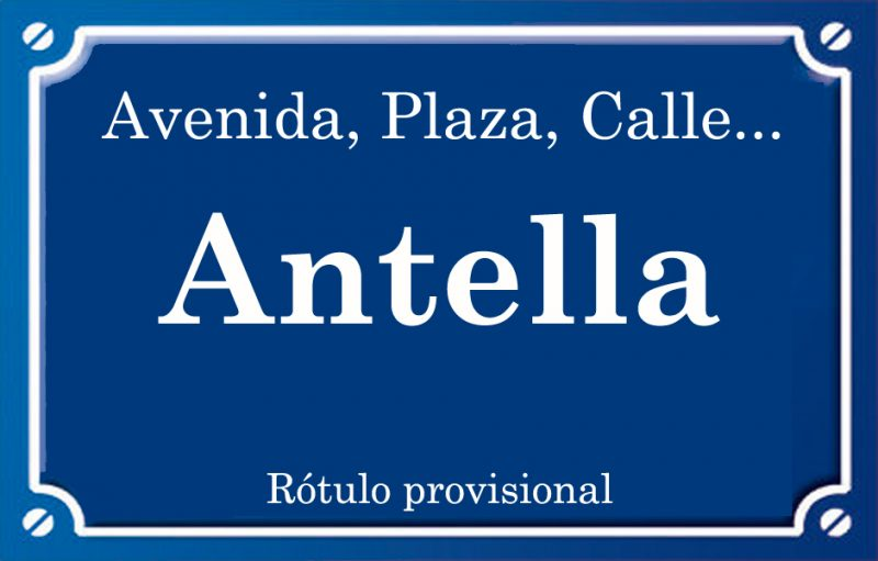 Antella (calle)
