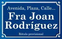 Fra Joan Rodríguez (calle)