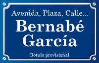 Bernabé García (calle)