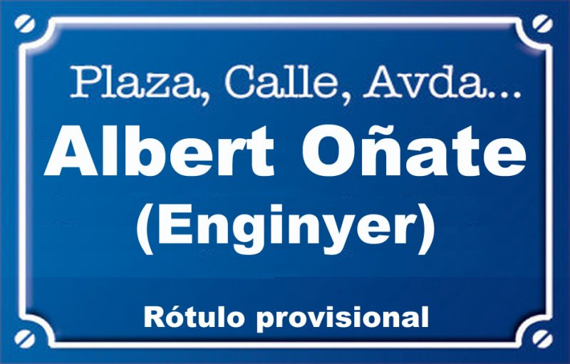 Enginyer Albert Oñate (calle)