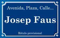 Josep Faus (calle)