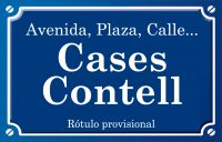 Cases Contell (calle)