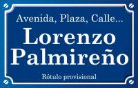 Lorenzo Palmireño (calle)