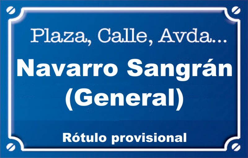 General Navarro Sangrán (calle)