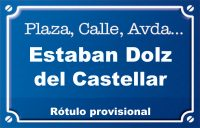 Esteban Dolz del Castellar (calle)
