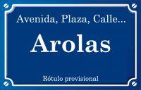 Arolas (calle)