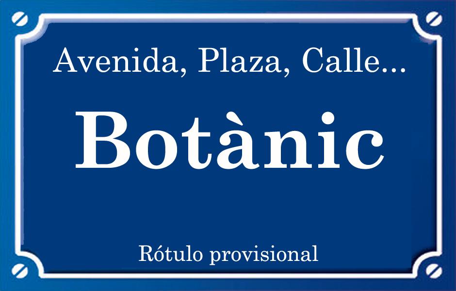 Botànic (calle)