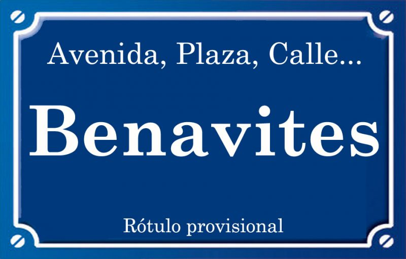 Benavites (calle)