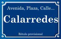 Calarredes (calle)