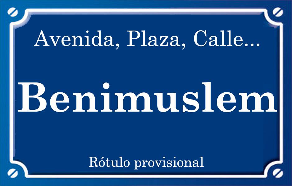 Benimuslem (calle)