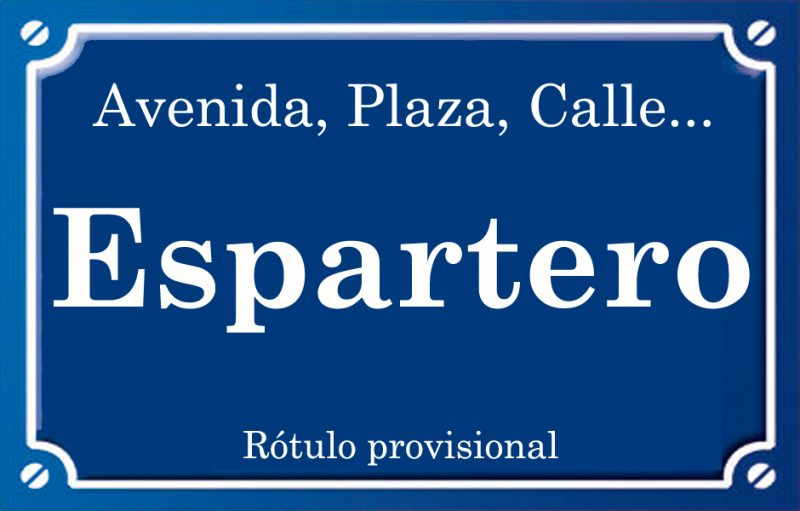 Espartero (calle)