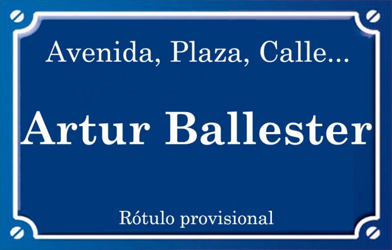Arturo Ballester (calle)