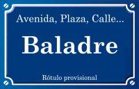 Baladre (calle)