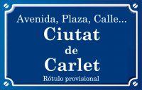 Ciutat de Carlet (calle)
