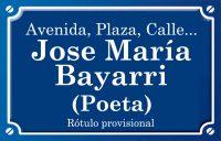 Josep María Bayarri Poeta (calle)