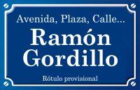 Ramón Gordillo (calle)