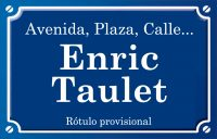 Enric Taulet (calle)