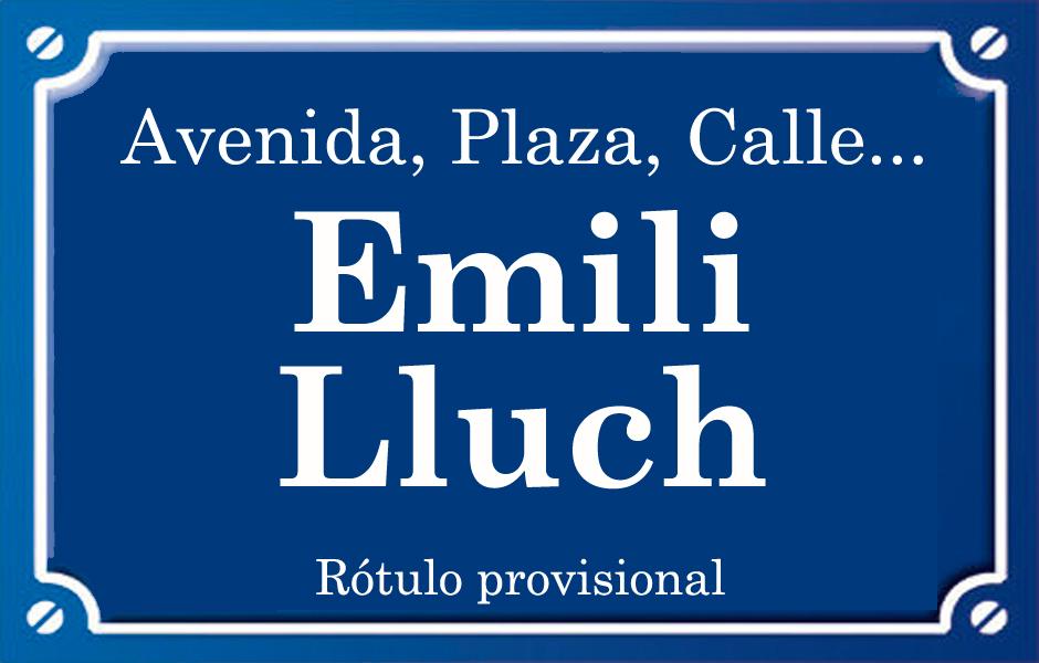 Emili Lluch (calle)