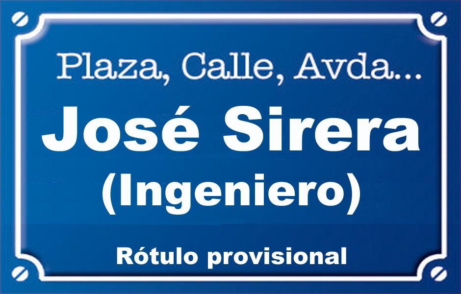 Enginyer José Sirera (calle)