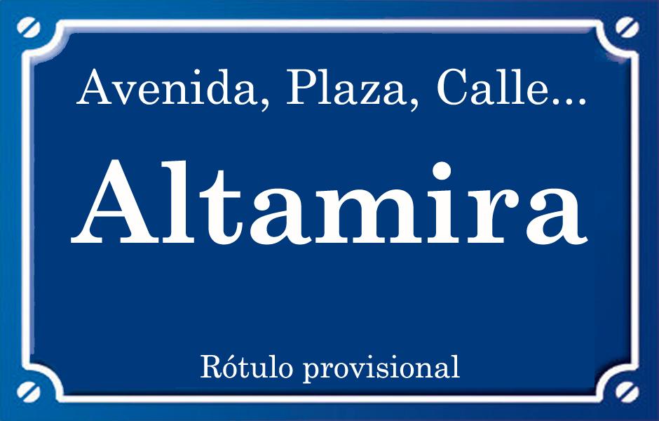 Altamira (calle)
