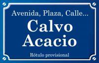 Calvo Acacio (calle)