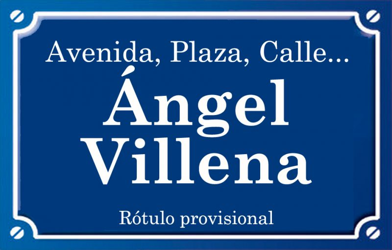 Ángel Villena (calle)