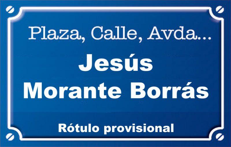 Jesús Morante Borrás (avenida)