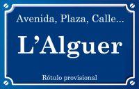 Alguer (calle)