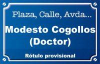 Doctor Modesto Cogollos (calle)