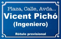 Ingeniero Vicent Pichó (calle)