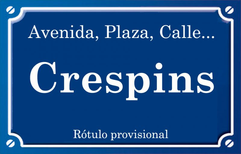 Crespins (plaza)