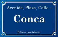 Conca (calle)