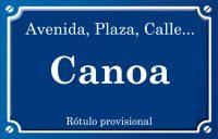 Canoa (calle)