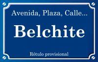 Belchite (calle)