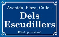 Dels Escudillers (calle)
