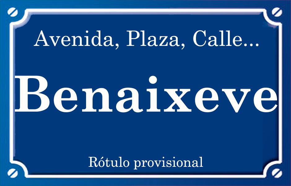 Benaixeve (calle)