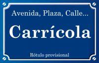 Carrícola (calle)