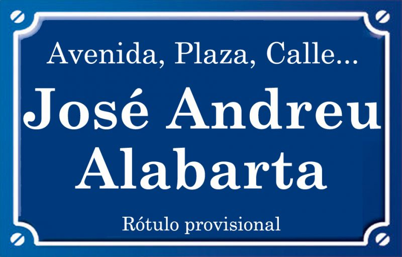 José Andreu Alabarta (calle)