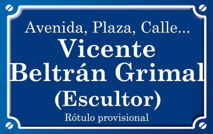 Vicente Beltrán Grimal (calle)