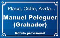 Gravador Manuel Peleguer (calle)