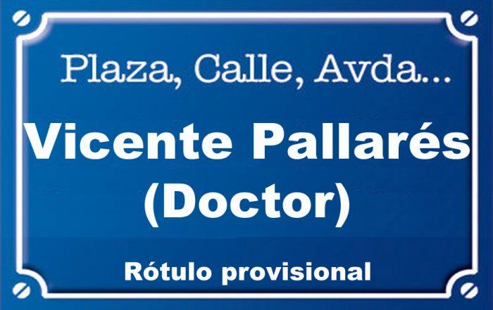 Doctor Vicente Pallarés (calle)