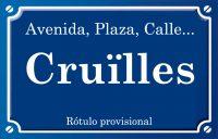 Cruïlles (calle)
