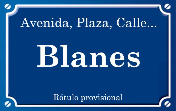 Blanes (calle)