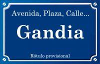Gandía (calle)