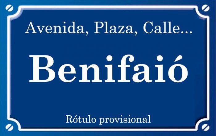 Benifaió (calle)