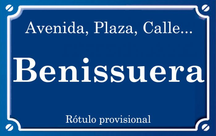 Benissuera (calle)