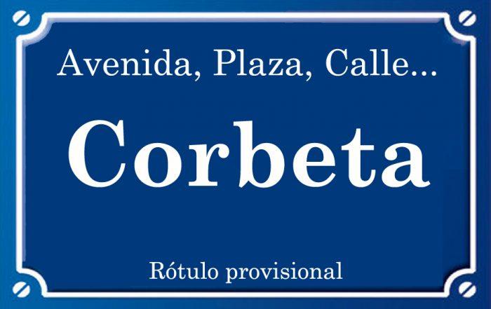 Corbeta (calle)