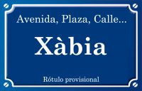 Xàbia (calle)