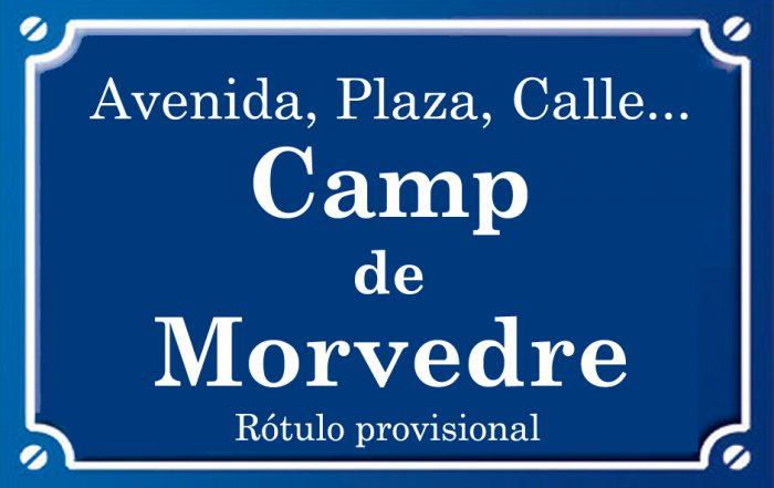 Camp de Morvedre (calle)