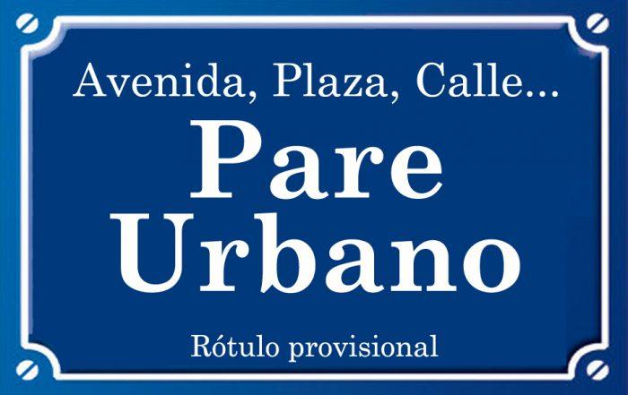 Pare Urbano (calle)